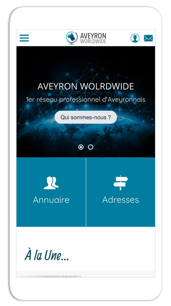 Application Aveyron Worldwide